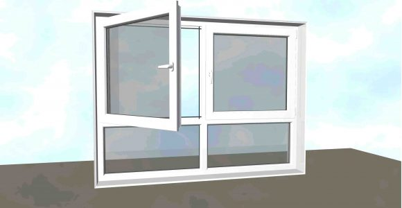 Fenster Festverglasung Kunststofffenster Xl Mit Schmalerem Rahmen throughout measurements 3345 X 2504