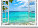Ocean View Fenster Karibik Dominikanische Republik Stockfoto Db within size 1600 X 1366