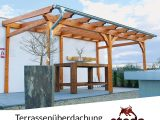 Terrassenberdachung Holz Leimholz 6×4 M 600×400 Cm Freistehend in proportions 1000 X 1000