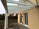 Terrassenberdachung Sonderkonstruktion Mit Vsg Glas In Hessen throughout dimensions 1440 X 1080